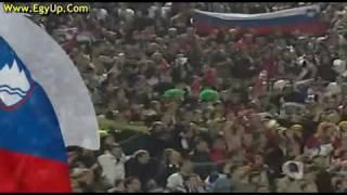 ALGERIE VS SLOVINIA 2010 الجزائر VS سلوفينيا .