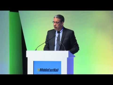 H.E.  Aziz Rabbah, Morocco update at Middle East Rail