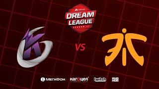 Keen Gaming vs Fnatic, DreamLeague Season 11 Major, bo3, game 1 [Casper & GodHunt]