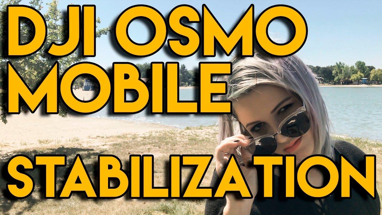 DJI Osmo Mobile Stabilization Test : iPhone 7 and Filmic Pro (Bonus Running  Test)