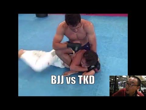 BJJ Vs Tae Kwon Do - MMA Fight