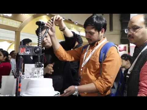 MAGIC CHEF TABLE , The Cake Icing Machine By Chef Vikram Bajaj