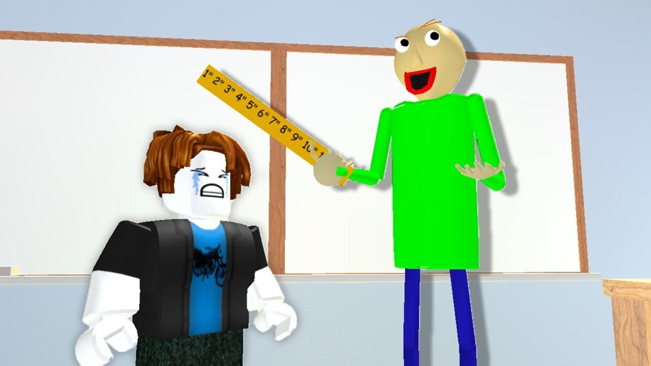 Baldi S Childhood Part 2 Roblox Baldi S Basics Animation Youtube