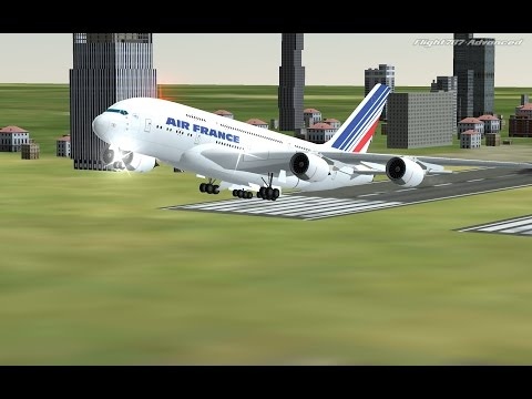 Flight 787 - Advanced - Airbus A380 [Air France from MOROCCO (GMME) to LITHUANIA (EYVI)]