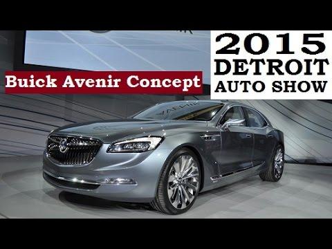 Buick Avenir Concept 2015 Detroit Auto Show Youtube