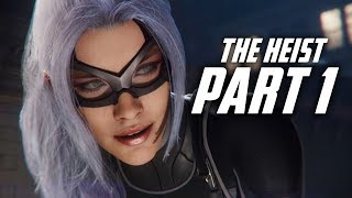 Spider Man THE HEIST DLC Gameplay Walkthrough Part 1 - BLACK CAT