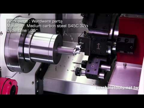 CNC Lathe | Turning Center - With Powerful Power Turret