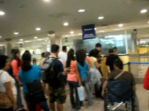 Inside NAIA Terminal 3  Part 3/5