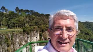 Mirante de Vidro - onde aconteceu o SEMINÁRIO DE LÍDERES (Ainor Lotério)