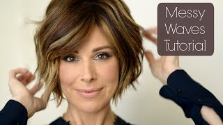 Messy Chic Holiday Hair Tutorial