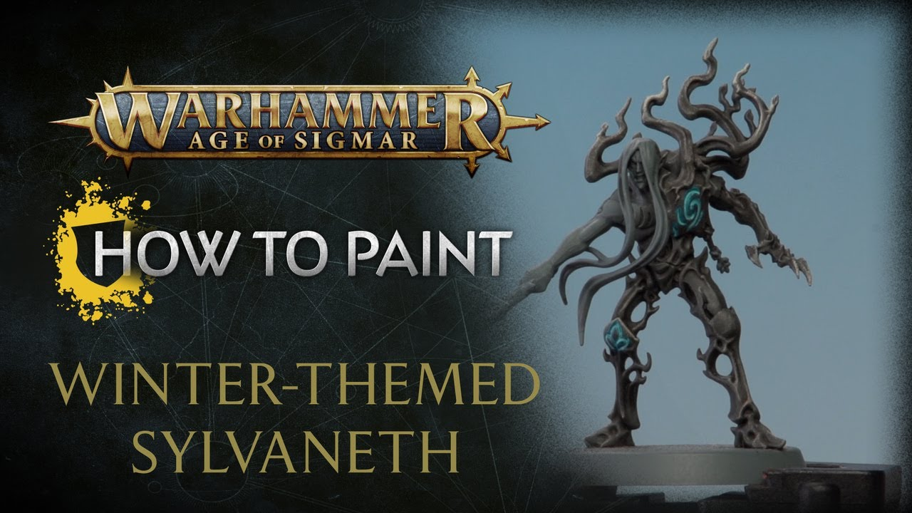 How to Paint: Winter-themed Sylvaneth