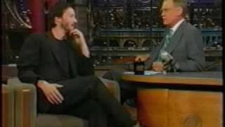 Keanu Reeves on David Letterman 2..