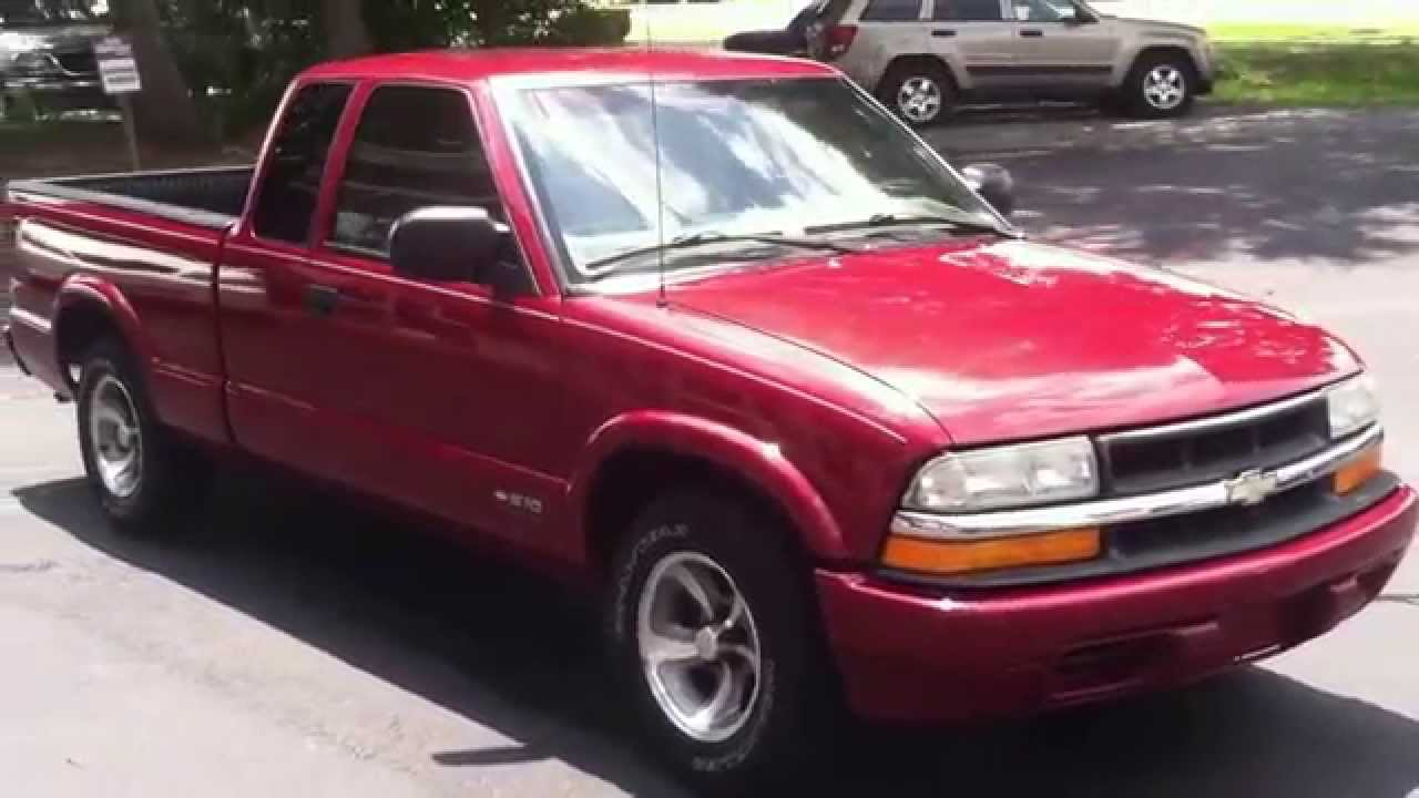 2001 chevrolet s 10 extended cab