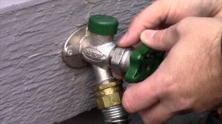 Prier Products P-164XCC Prier Products P-164XCC 1//2 Crimp PEX Handle-Operated Freezeless Residential Wall Hydrant