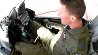 F-16 Viper Cockpit Tour, Test Pilot, Edwards AFB