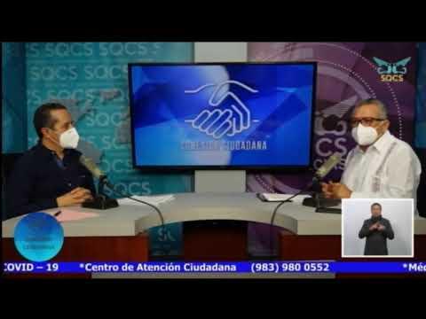 CARLOS JOAQUIN CONTIGO  Gobernador del Estado de Quintana Roo nos actualizará el #SemáforoEstatal.