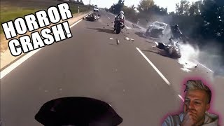 HORRORCRASH BEI 140 KM/H | Reaktion 😱