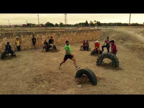 New spot parkour freerunning youssoufia 2016