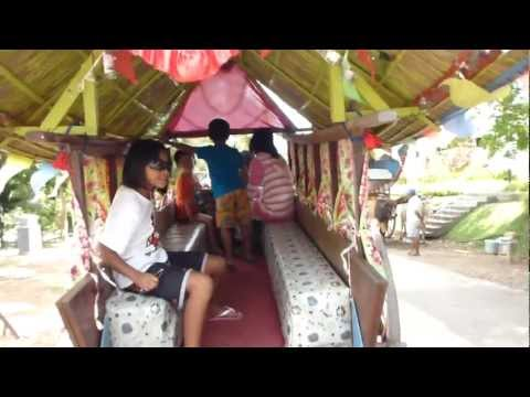 A ride in a bullock-cart in Malacca before they disappear forever from planet earth - 08.04.12
