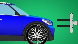 Узнай, как машины собирают на автозаводе. Мультики про машинки.