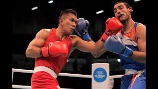 Eumir Marcial (PHI) vs. Ashish Kumar (IND) / Semifinals / 2020 Tokyo Olympic Boxing Qualifiers