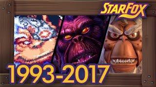 Evolution of Andross Battles in Star Fox Games [1993–2017]