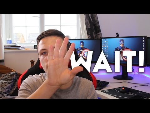 DON'T BUY PC PARTS! ...NOT YET ANYWAY! [WHY YOU SHOULD WAIT!]