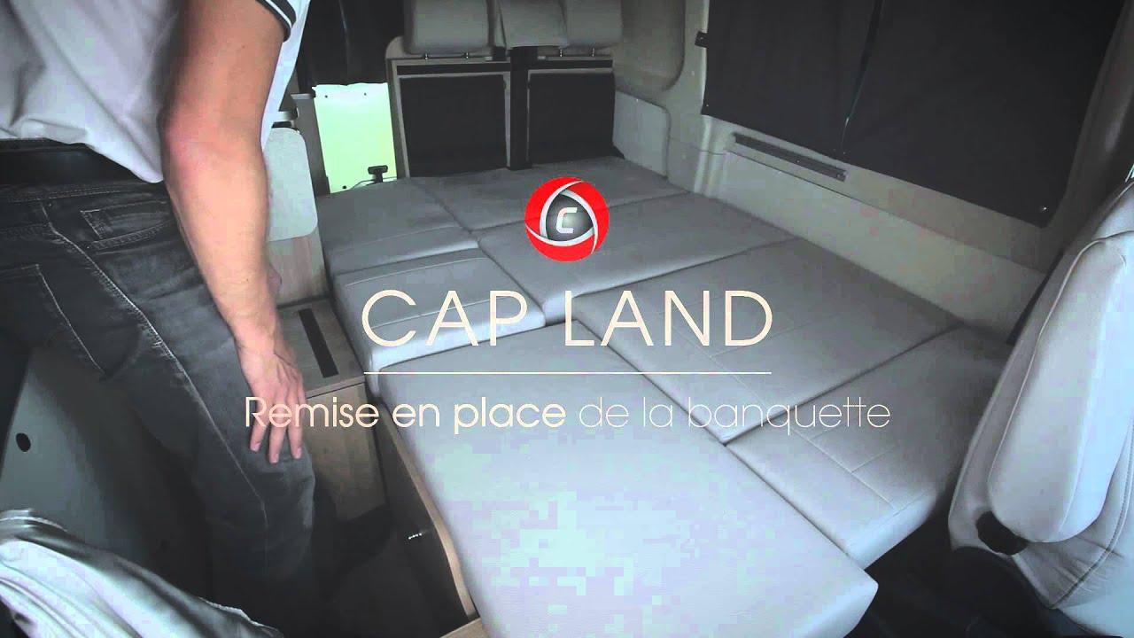 Comment Monter Un Lit Cars cap land campérêve transformation couchage d'appoint