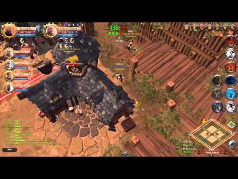 Echo of Silence Vs Money Guild/Conflict (Mixed A Teams) - GvG (Town Attack, +5 Def Bonus)