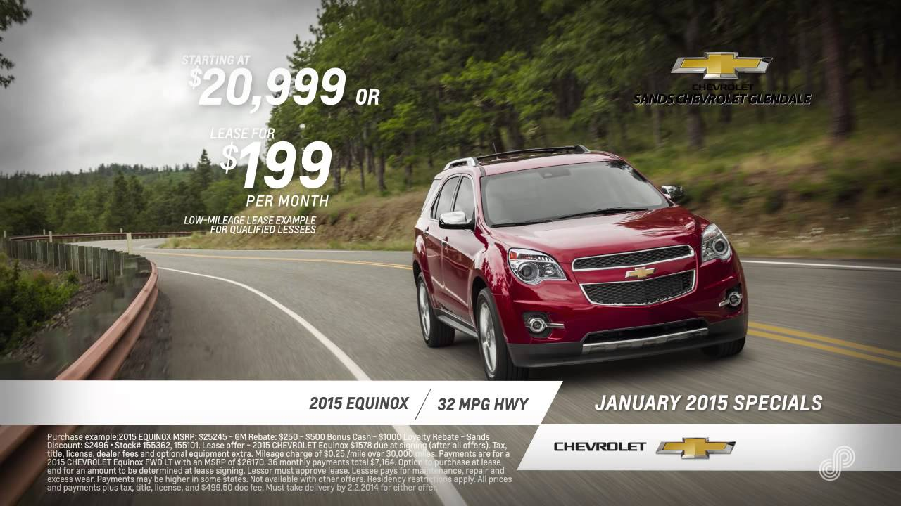 chevy equinox purchase and lease specials sands chevrolet glendale. Cars Review. Best American Auto & Cars Review