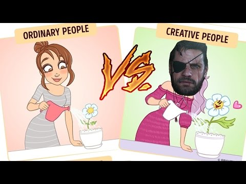"""How Punished """"Creative"""" People See the World"""