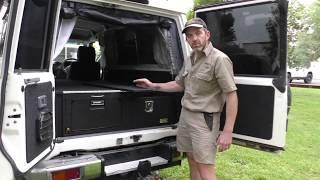 TROOPY / DUAL CAB - DRIFTA DRAWER FRIDGE SYSTEM