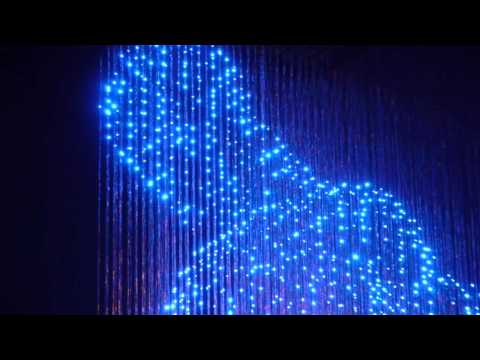 The Man with No Shadow : Milano Salone Satellite (LED Sculpture 3D) HD