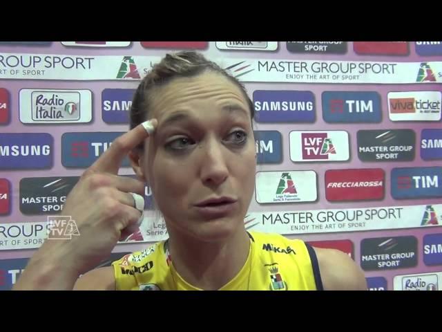 #ValentinaArrighetti. Intervista post-partita. #gara2 #PiacenzaConegliano
