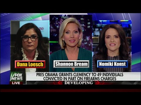 Obama Single Day Clemency Record Debated - Dana Loesch v. No