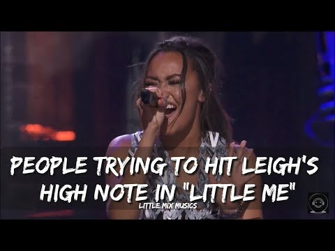 """PEOPLE TRYING TO HIT LEIGH'S HIGH NOTE IN """"LITTLE ME"""""""