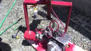 Hot Rod Harbor Freight Engine 8000 RPM Motor