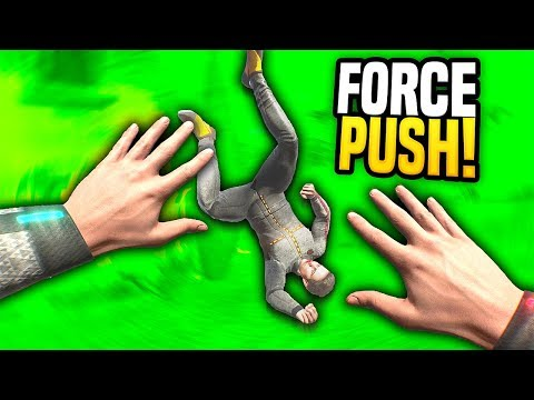 USING THE FORCE ON FORD - Boneworks VR Mods! (Sandbox Funny Moments)