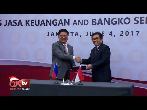 OJK Signs LoI with Philippine Central Bank