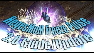 Path of Exile 2.0: HegesMoM's Crit Freeze Pulse Witch Guide & Update!  Warning: In Depth Video!