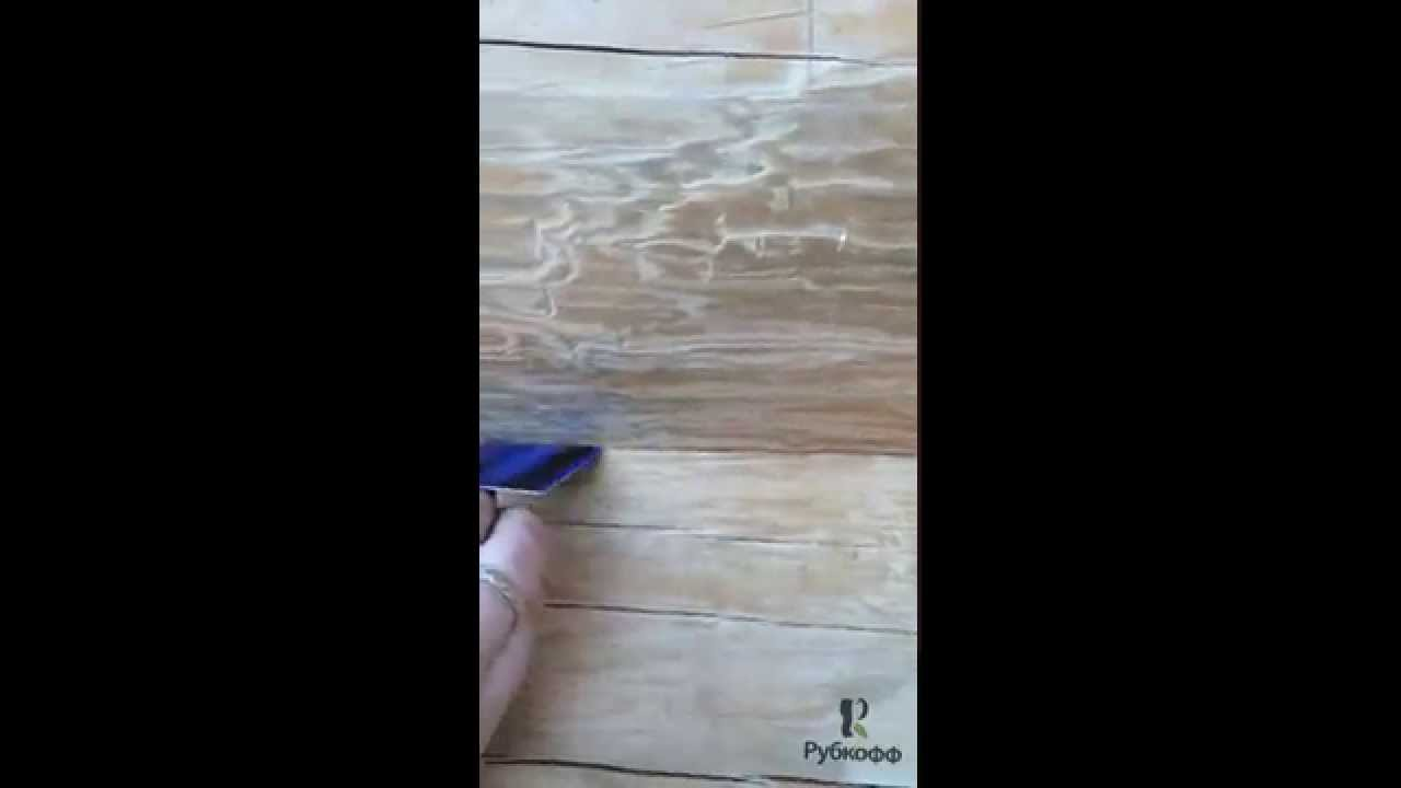 Дом из бревна ручной рубки. Пример правильной посадки бревен.
