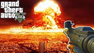 BIGGEST NUKE EXPLOSION EVER ! - GTA 5 Mods