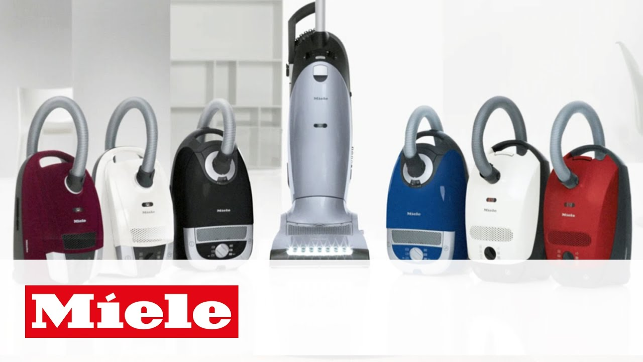 Everyone Deserves A Miele Vacuum Cleaner