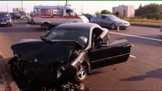 ГАИ Бреста: лобовое столкновение Opel и Mercedes, погиб пассажир