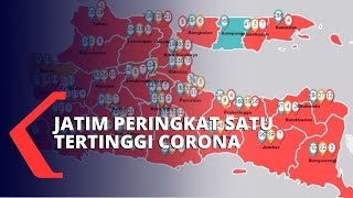 Kasus Corona Tertinggi, Jawa Timur Bentuk Tim Gabungan Baru, Apa Tugasnya?