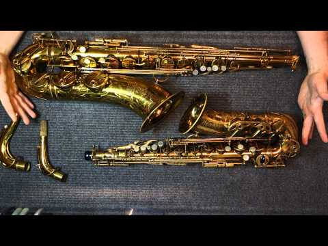 Repairman's Overview: Selmer Balanced Action Tenor & Alto Saxophone