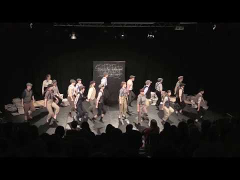 "University College Dublin Musical Society - Intervarsities 2017 Entry - ""Newsies"""