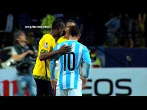 ¿Una foto, Lio?. Argentina 1 - Jamaica 0. Grupo B. Copa América 2015. FPT