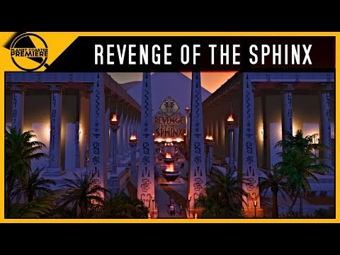 Revenge Of The Sphinx | Planet Coaster Premiere | 4Kᵁᴴᴰ