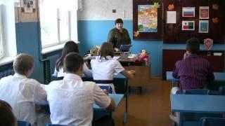 Мой добрый учитель. Песня в исполнении учениц школы.